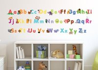 Animal Alphabet Wall Decals - Baby and Toddler Wall Decor ...