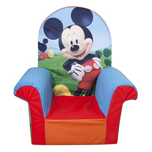 mickey mouse clubhouse chair child adirondack marshmallow furniture children s foam high back disney