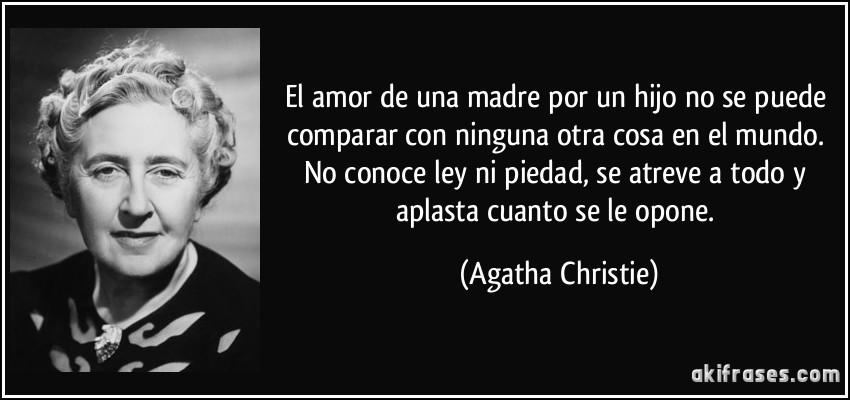 Resultado de imagen para frases de Agatha Christie