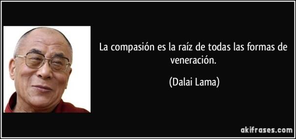 Resultado de imagen de frases sobre la compasion