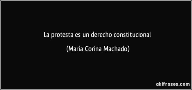 Resultado de imagen para derecho a la protesta frases
