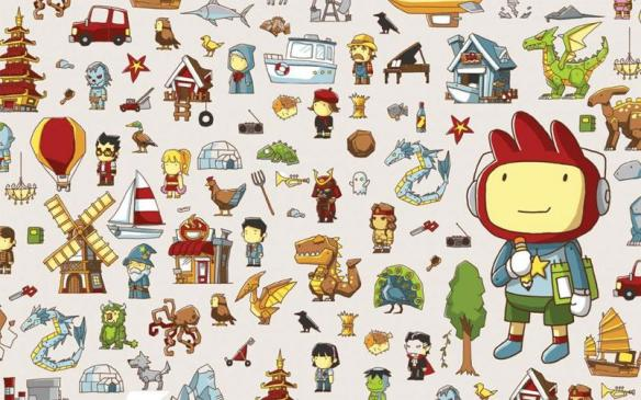 Wallpaper de Scribblenauts