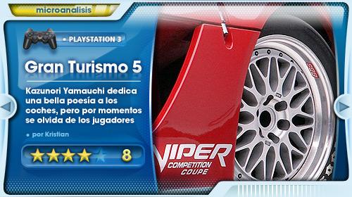 Análisis de Gran Turismo 5