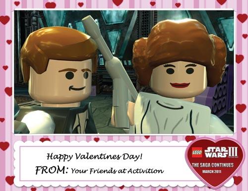 Feliz Día de San Valentin by LEGO Star Wars III: The Clone Wars