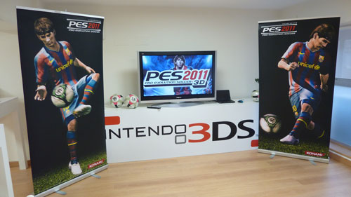 Presentación Pro Evolution Soccer 2011 3D