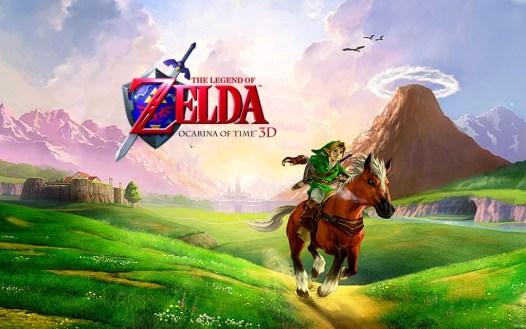 Zelda Ocarina Of Time 3D