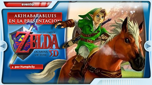 Presentación The Legend of Zelda: Ocarina of Time 3D