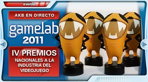 Gamelab 2011 - Gala de entrega de premios
