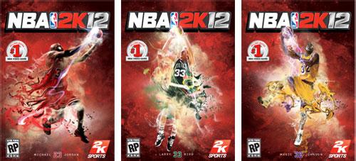 NBA 2K12 Portadas especiales