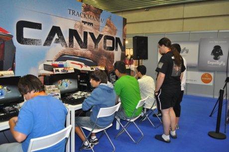 Trackmania 2: Canyon en la Euskal Encounter