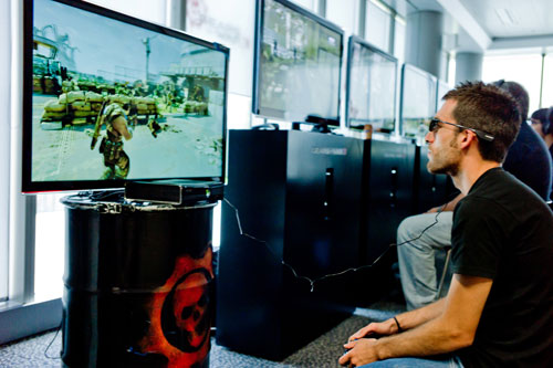 Gears of War 3: Modo 3D