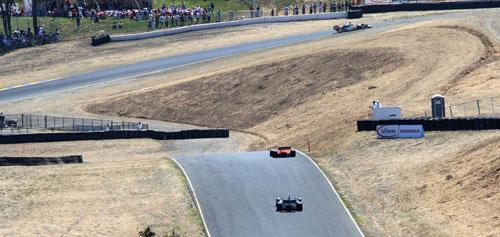 Infineon Raceway en la realidad