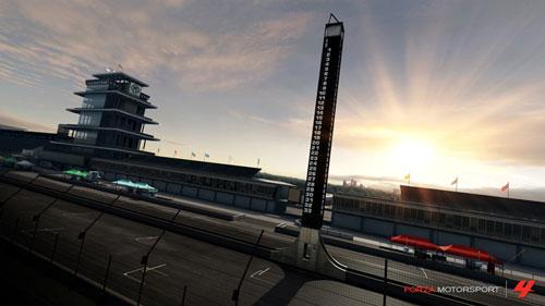 Circuito de Indianápolis en Forza 4