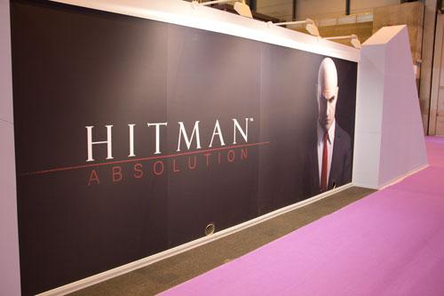 Stand de Hitman Absolution en GameFest 2011