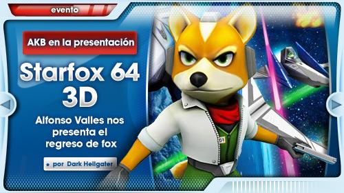 Presentación StarFox 64 3D