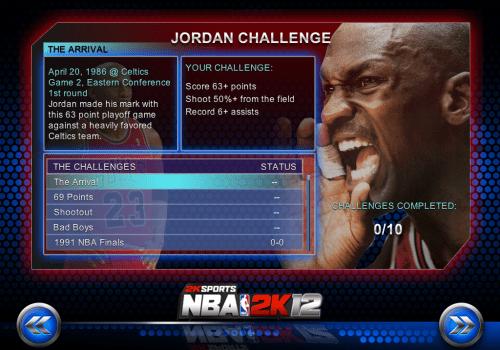 NBA 2K12 iOS
