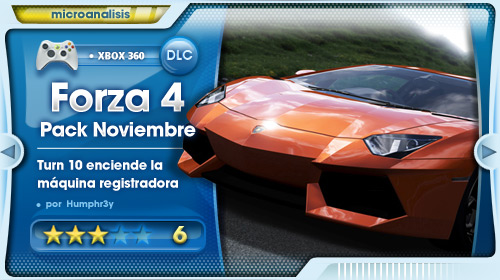 Análisis November Speed Pack para Forza Motorsport 4