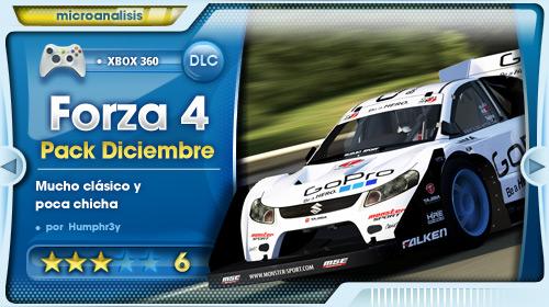 Análisis DLC Pack Diciembre de Forza 4