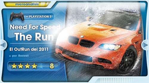 Análisis Need for Speed: The Run