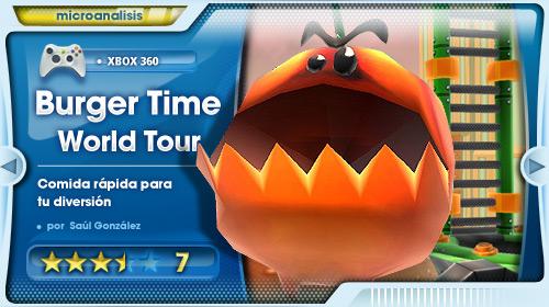 Análisis Buger TIme World Tour