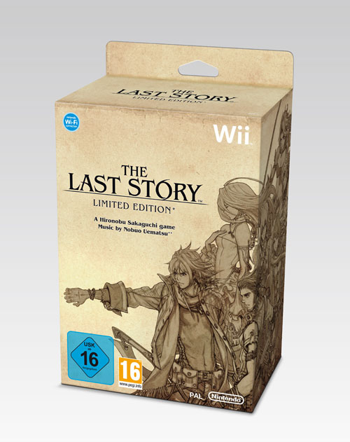 Caja de coleccionista The Last Story SteelBook