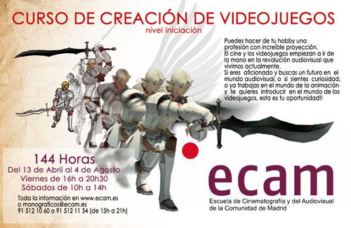 Curso de videojuegos ECAM