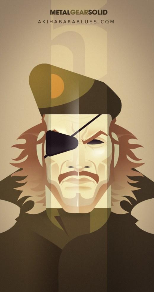 Arte de Roswell de Metal Gear