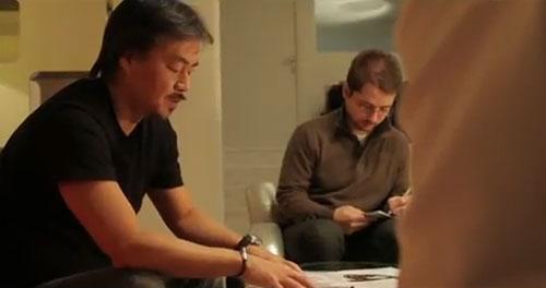 Hironobu Sakaguchi realizando The Last Story