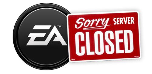 Electronic Arts cierra servidores