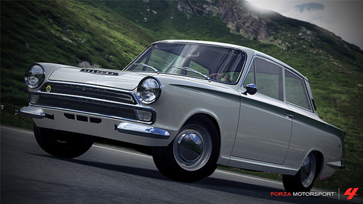 1966 Lotus Cortina Forza Motorsport 4