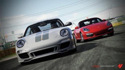 Pack Porsche DLC Forza Motorsport 4