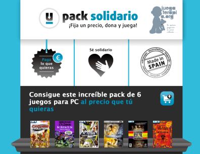 Pack solidario Tusjuegos.com