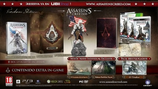 [AKB] Freedom Edition de Assassins Creed 3