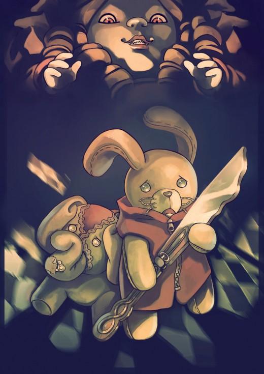 A Stuffed Bunny in Doll Land, por Underanangel