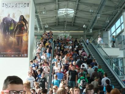 Ambiente de la Gamescom 2012