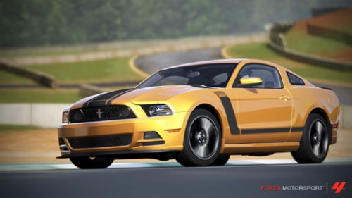 Ford Mustang Boss 302 2013 Forza Motorsport 4