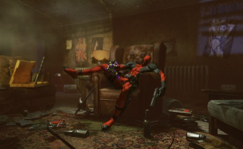 Deadpool Announcement Living Room Concept Art