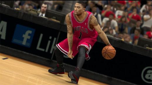 Derrick Rose en NBA 2K13