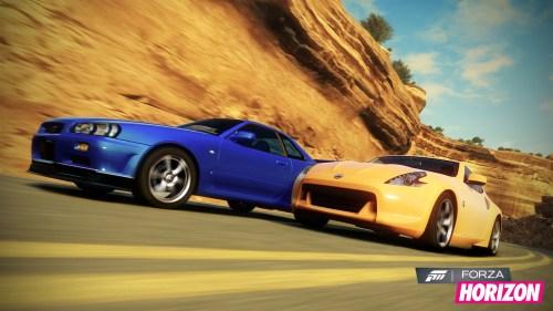 Forza Horizon es Competición