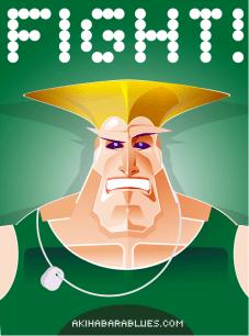 Guile de Street Fighter, por Roswell