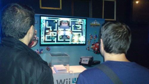 Partida multijugador en Wii U