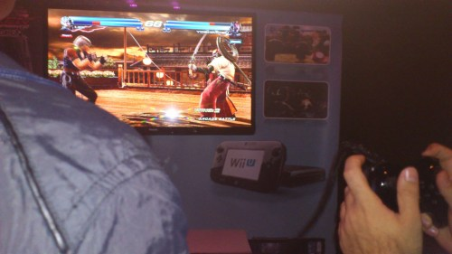 Jugando a Tekken Tag Tournament 2 para Wii U