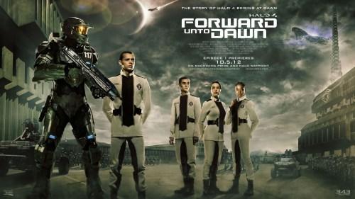 Los guapos guapísimos de Halo 4 Forward Unto Dawn