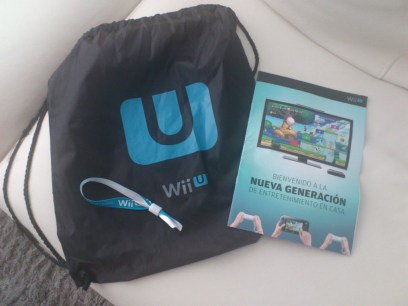 Godies de Nintendo Wii U por asistir al evento
