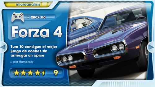 Análisis Forza Motorsport 4