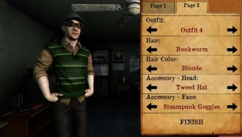 Personalización del personaje