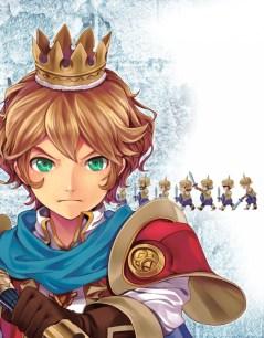Arte de New Little King's Adventure para PS Vita