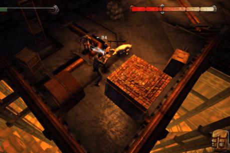 Gameplay mundo de fuego