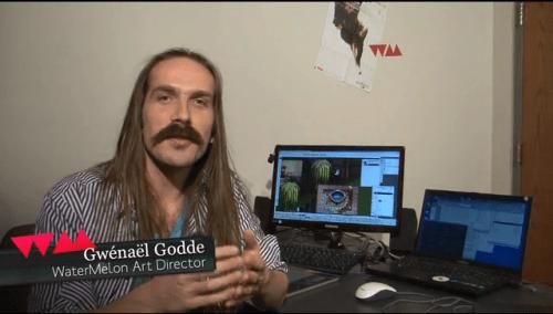 Gwénaël Godde, Director de Arte de WaterMelon