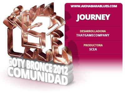 Journey es el Tercer Mejor Juego del 2012 para la Comunidad AKB
